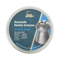 Пуля пневматическая H&N Baracuda Hunter Extreme, 5,5 мм, 1,20 г, 200 шт..
