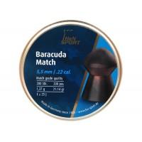 Пуля пневматическая H&N Baracuda Match, 5,52 мм, 1,37 г, 200 шт..