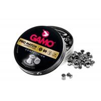 Пуля пневматическая Gamo Pro-Match, кал. 5,5 мм., гладкая (250 шт.)..