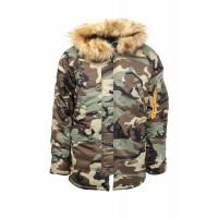Куртка Remington Alaska Division Camouflage, зимняя..