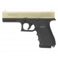 Оружие списанное, охолощенный пистолет 17, (Glok 17), Сатин, кал. 9mm. P.A.K..