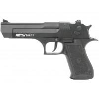 Оружие списанное, охолощенный пистолет EAGLE X, черный, кал. 9mm. P.A.K..