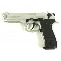 Оружие списанное, охолощенный пистолет MOD92, (Beretta 92), Хром, кал. 9mm. P.A...