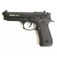 Оружие списанное, охолощенный пистолет MOD92, (Beretta 92), черный, кал. 9mm. P...