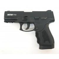 Оружие списанное, охолощенный пистолет PT24, (Taurus), full-auto, черный, кал. 9..