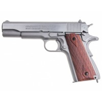 пистолет пневматический Swiss Arms SA1911 Seventies Stainless, к.4,5мм..
