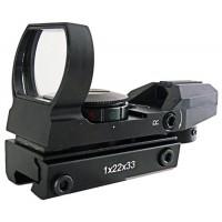 Коллиматор Target Optic 1x33 открытого типа, марка - сменная, на призму 11мм..