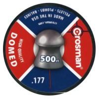Пуля пневматическая Crosman Domed, 4,5 мм (500шт)..
