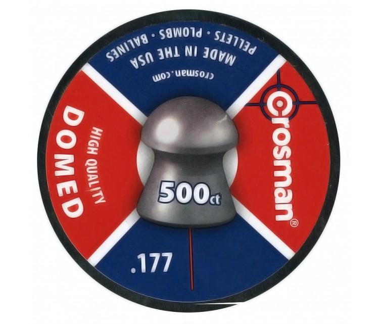 Пуля пневматическая Crosman Domed, 4,5 мм (500шт)
