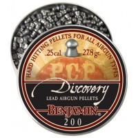 Пуля пневматеческая Benjamin Discovery Domed, 6,35 мм., 27,8 гран/1,8гр. (200шт...