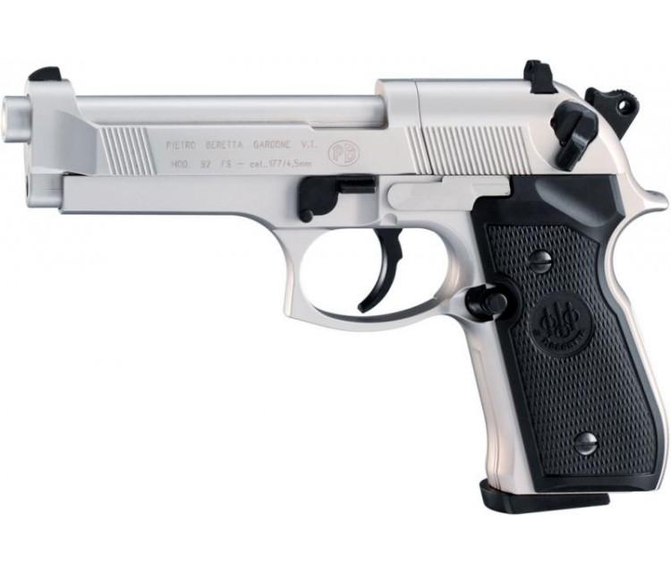 Пистолет пневматический Beretta M92 FS Nickel