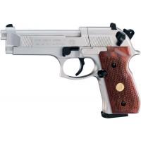 Пистолет пневматический Beretta M92 FS Nickel / Holz..