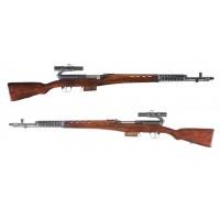 Оружие списанное, охолощенное винтовка Токарева АВТ-40..