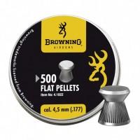 Пуля пневматическая Browning, 4,5мм. плоская головка (500шт)..