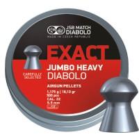 Пуля пневматическая JSB Exact Jumbo Heavy, 5,52 мм, 1,175 г, 500 шт