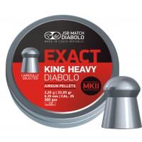 Пуля пневматическая JSB Exact King Heavy Diabolo MK II, 6,35 мм, 2,2 г, 300 шт..
