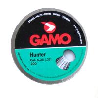 Пуля пневматическая Gamo Hunter, кал. 6,35 мм., насечки (200 шт.)..