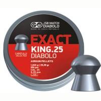 Пуля пневматическая JSB Diabolo Exact King.25,  6,35мм, 1,645гр., 25,39gr (350 шт)