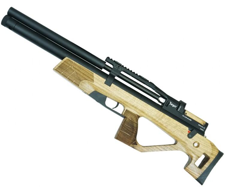 Винтовка пневматическая Jaeger/Егерь булл-пап SPR, кал.5,5 мм (редуктор, Alfa Precision 450, с чоком, дерево)